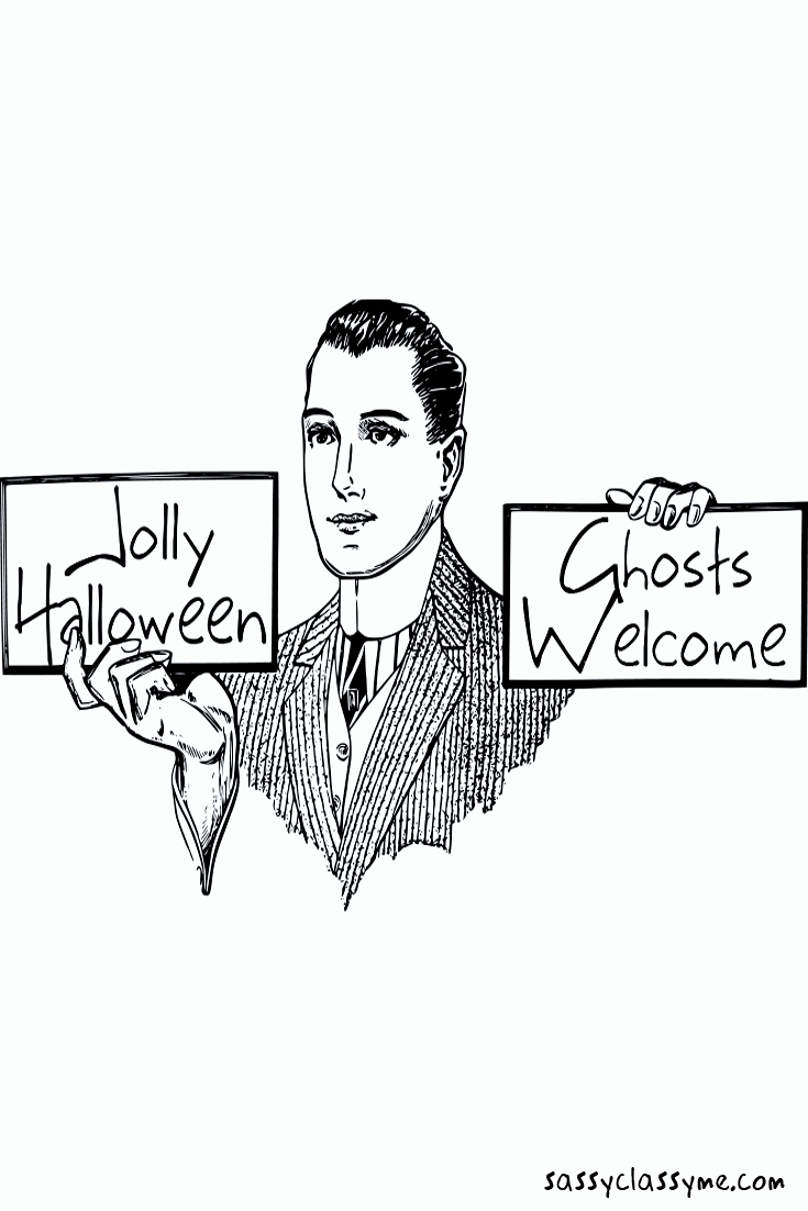 Stunning Happy Halloween Images Ghosts Welcome Sassyclassyme