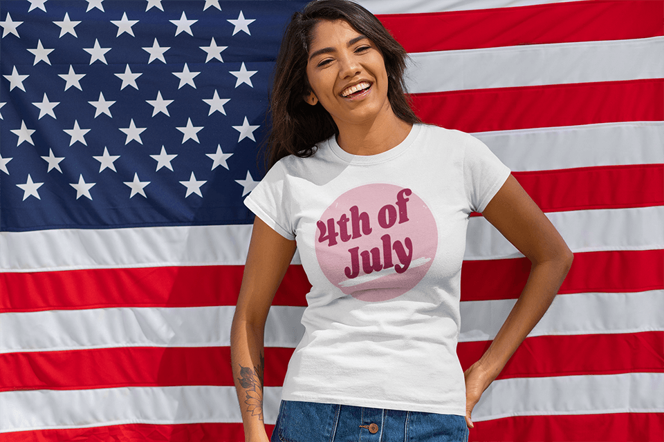 4th Of July Vintage Shop Banner Shirt